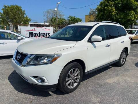 2015 Nissan Pathfinder for sale at Maxicars Auto Sales in West Park FL