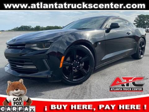 2017 Chevrolet Camaro for sale at ATLANTA TRUCK CENTER LLC in Brookhaven GA