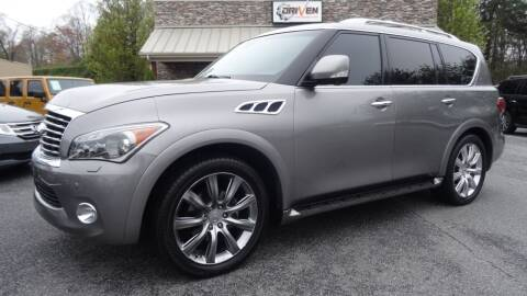 2014 Infiniti QX80 for sale at Driven Pre-Owned in Lenoir NC