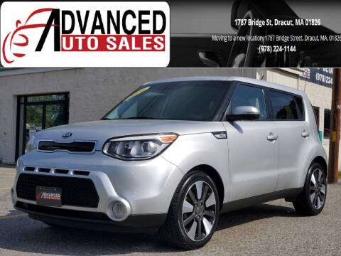 2014 Kia Soul for sale at Advanced Auto Sales in Dracut MA