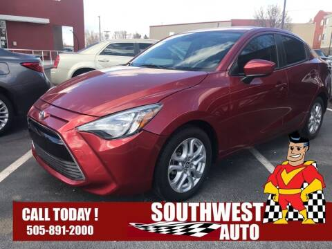 2017 Toyota Yaris iA for sale at SOUTHWEST AUTO in Albuquerque NM