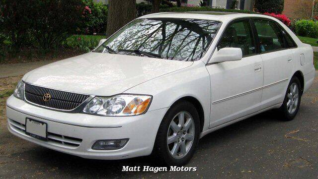 2001 Toyota Avalon for sale at Matt Hagen Motors in Newport NC