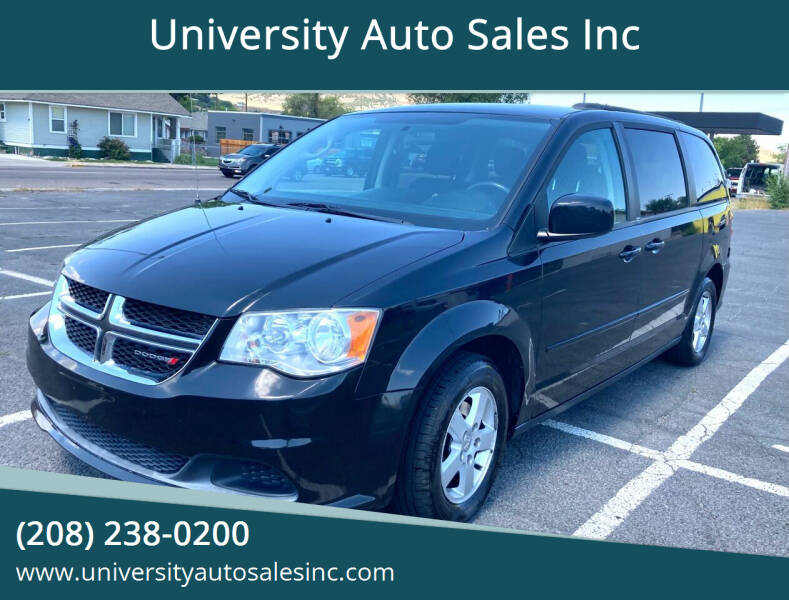2012 Dodge Grand Caravan for sale at University Auto Sales Inc in Pocatello ID
