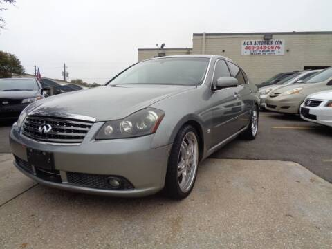 2006 Infiniti M35 for sale at ACH AutoHaus in Dallas TX
