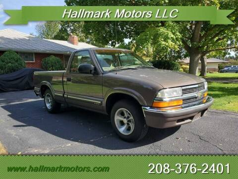 1998 Chevrolet S-10 for sale at HALLMARK MOTORS LLC in Boise ID