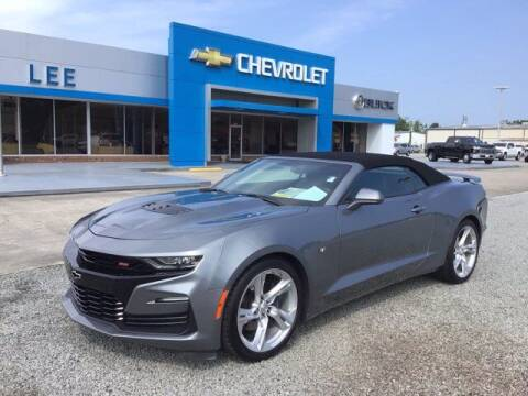 2019 Chevrolet Camaro for sale at LEE CHEVROLET PONTIAC BUICK in Washington NC