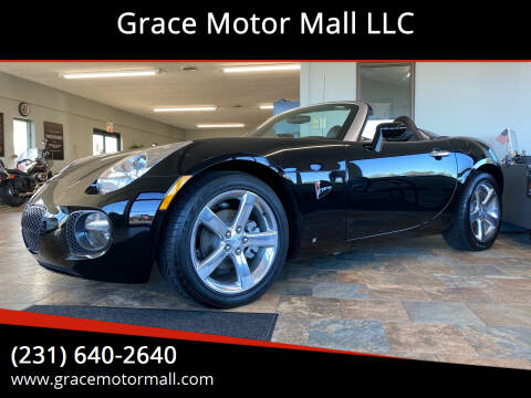 2007 Pontiac Solstice for sale at Grace Motor Mall LLC in Traverse City MI