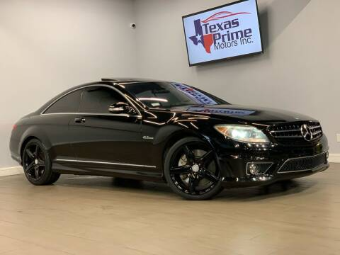 2009 Mercedes-Benz CL-Class for sale at Texas Prime Motors in Houston TX