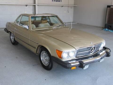 1974 Mercedes-Benz 450 SL for sale at TANQUE VERDE MOTORS in Tucson AZ