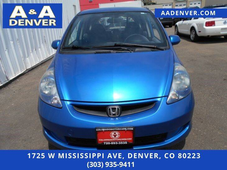 2008 Honda Fit 4dr Hatchback 5M - Denver CO