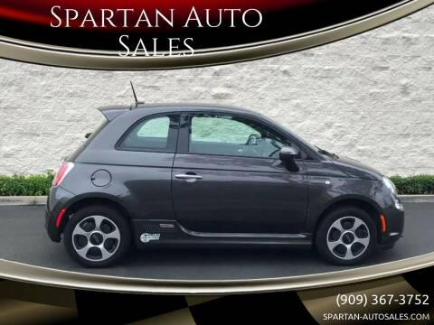 2015 FIAT 500e for sale at Spartan Auto Sales in Upland CA