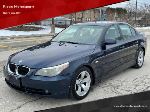 2004 BMW 5 Series for sale at Klean Motorsports in Skokie IL