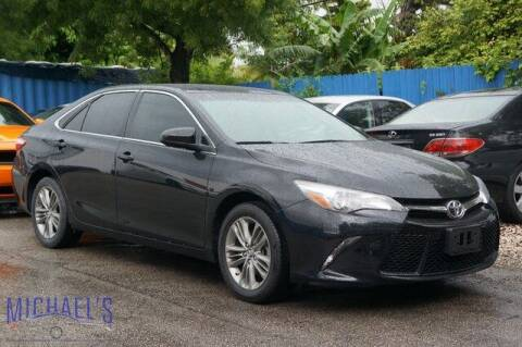 2017 Toyota Camry for sale at Michael's Auto Sales Corp in Hollywood FL