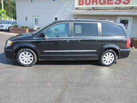 2014 Chrysler Town and Country for sale at Burgess Motors Inc in Michigan City IN
