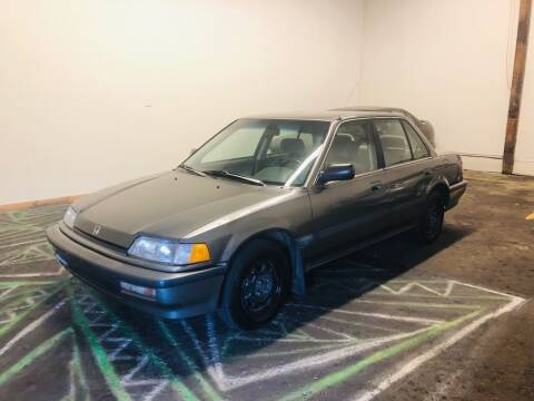 1990 Honda Civic for sale at DASH AUTO SALES LLC in Salem OR