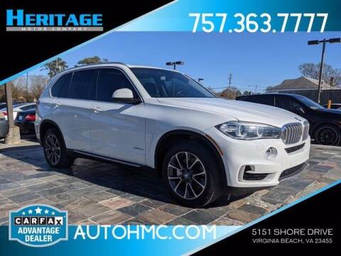 2015 BMW X5 for sale at Heritage Motor Company in Virginia Beach VA