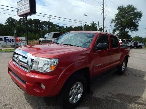 2010 Toyota Tacoma for sale at Medford Motors Inc. in Magnolia TX