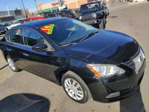 2014 Nissan Sentra for sale at Sanaa Auto Sales LLC in Denver CO