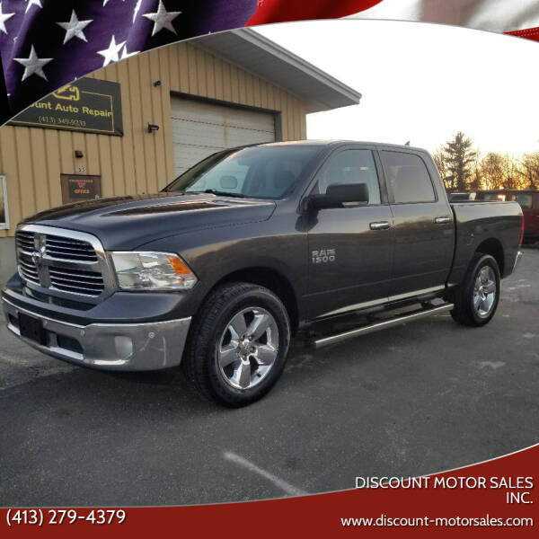 2016 RAM Ram Pickup 1500 for sale at Discount Motor Sales inc. in Ludlow MA