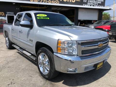 2013 Chevrolet Silverado 1500 for sale at BEST DEAL MOTORS  INC. CARS AND TRUCKS FOR SALE in Sun Valley CA
