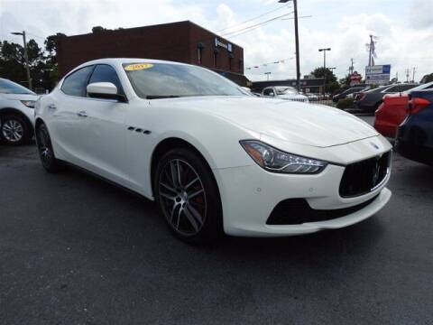 2017 Maserati Ghibli for sale at Auto Finance of Raleigh in Raleigh NC