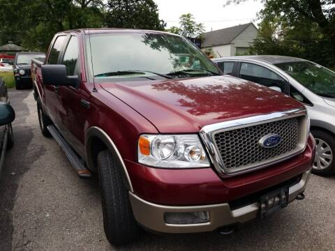 2005 Ford F-150 for sale at Buy For Less Motors, Inc. in Columbus OH