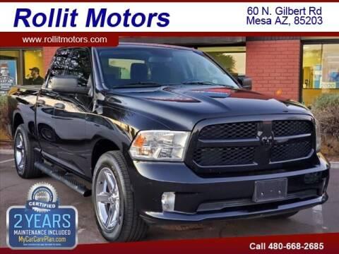 2015 RAM Ram Pickup 1500 for sale at Rollit Motors in Mesa AZ