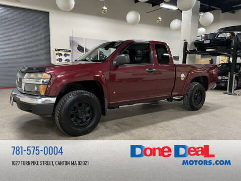 2007 Chevrolet Colorado for sale at DONE DEAL MOTORS in Canton MA