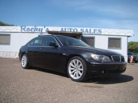 2008 BMW 7 Series for sale at Rocky's Auto Sales in Corpus Christi TX