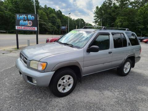 2000 Nissan Pathfinder for sale at Let's Go Auto in Florence SC
