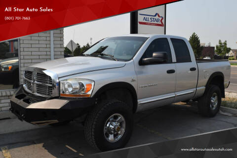 2006 Dodge Ram Pickup 3500 for sale at All Star Auto Sales in Pleasant Grove UT