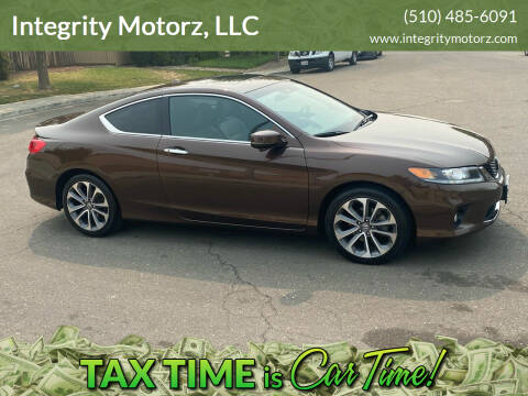 2013 Honda Accord for sale at Integrity Motorz, LLC in Tracy CA