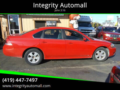 2011 Chevrolet Impala for sale at Integrity Automall in Tiffin OH