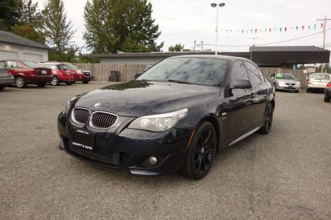 2010 BMW 5 Series for sale at Leavitt Auto Sales and Used Car City in Everett WA