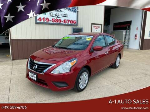 2019 Nissan Versa for sale at A-1 AUTO SALES in Mansfield OH
