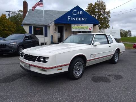 1987 Chevrolet Monte Carlo for sale at CAR FINDERS OF MARYLAND LLC in Eldersburg MD