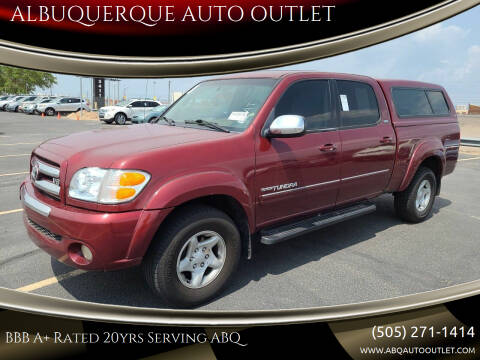 2004 Toyota Tundra for sale at ALBUQUERQUE AUTO OUTLET in Albuquerque NM