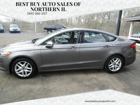 2013 Ford Fusion for sale at Best Buy Auto Sales of Northern IL in South Beloit IL