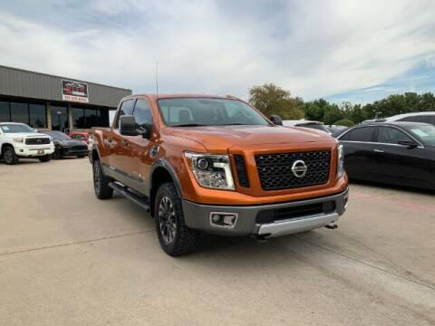 2019 Nissan Titan XD for sale at KIAN MOTORS INC in Plano TX