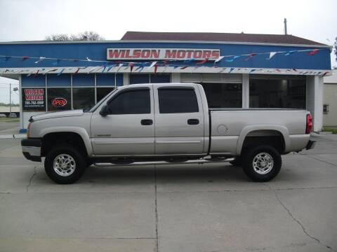 2005 Chevrolet Silverado 2500HD for sale at Wilson Motors in Junction City KS