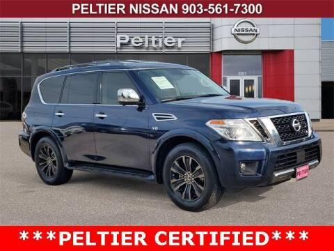 2019 Nissan Armada for sale at TEX TYLER Autos Cars Trucks SUV Sales in Tyler TX