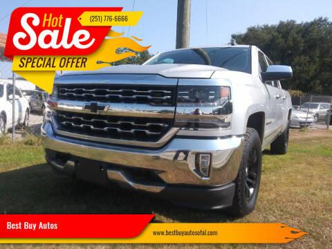 2018 Chevrolet Silverado 1500 for sale at Best Buy Autos in Mobile AL