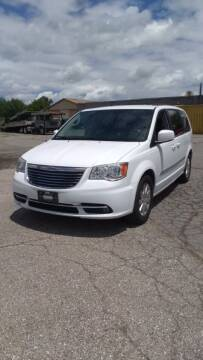 2014 Chrysler Town and Country for sale at J & S Motors in Chardon OH
