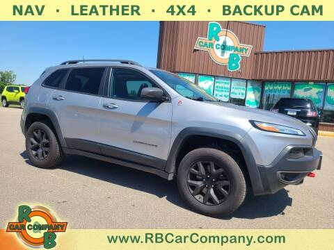 2018 Jeep Cherokee for sale at R & B Car Co in Warsaw IN