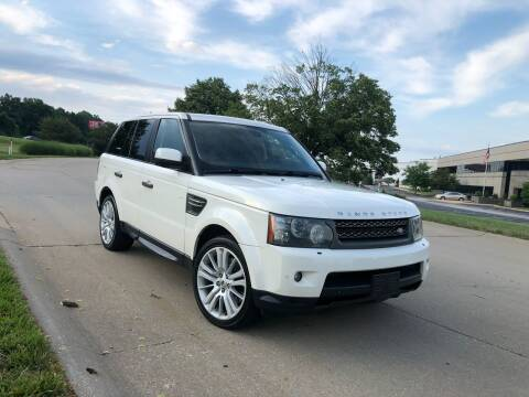 2010 Land Rover Range Rover Sport for sale at Q and A Motors in Saint Louis MO