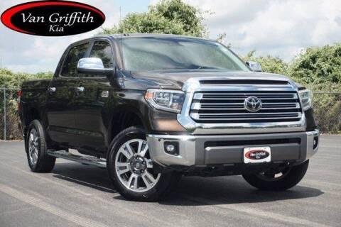 2018 Toyota Tundra for sale at Van Griffith Kia Granbury in Granbury TX