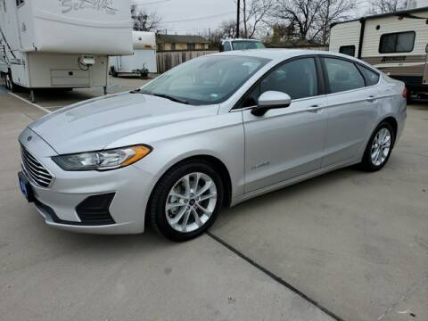 2019 Ford Fusion Hybrid for sale at Kell Auto Sales, Inc - Grace Street in Wichita Falls TX