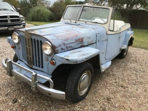 1949 Jeep jeepster vj2 for sale at SARCO ENTERPRISE inc in Houston TX