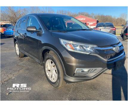 2015 Honda CR-V for sale at RS Motors in Falconer NY