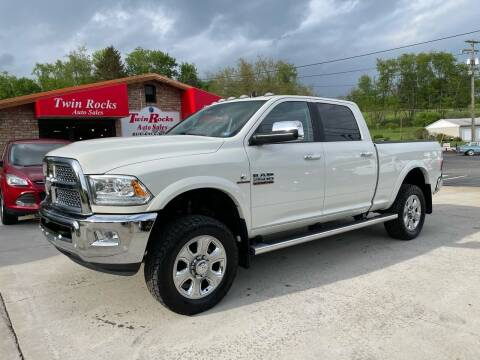 2018 RAM Ram Pickup 2500 for sale at Twin Rocks Auto Sales LLC in Uniontown PA